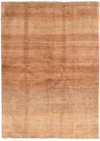Gabbeh (Persja) Dywan 144X202 Nowoczesny Tkany Ręcznie Jasnobrązowy/Rdzawy/Czerwony (Wełna, Persja/Iran)