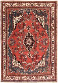 Hamadan Patina Dywan 207X297 Orientalny Tkany Ręcznie Ciemnobrązowy/Ciemnoczerwony (Wełna, Persja/Iran)