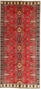 Kaszkaj Patina Dywan 135X307 Orientalny Tkany Ręcznie Chodnik Ciemnoczerwony/Rdzawy/Czerwony (Wełna, Persja/Iran)