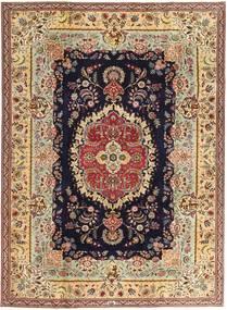 Tebriz Patina Dywan 216X295 Orientalny Tkany Ręcznie Ciemnobeżowy/Brązowy (Wełna, Persja/Iran)