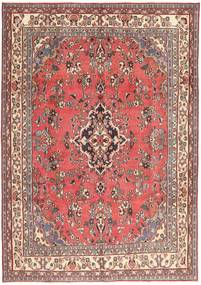 Hamadan Patina Dywan 203X298 Orientalny Tkany Ręcznie Jasnoróżowy/Ciemnoczerwony (Wełna, Persja/Iran)
