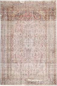 Colored Vintage Dywan 265X410 Nowoczesny Tkany Ręcznie Jasnoszary/Jasnoróżowy Duży (Wełna, Persja/Iran)