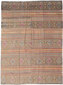 Kilim Tureckie Dywan 178X238 Orientalny Tkany Ręcznie Jasnoszary/Jasnobrązowy (Wełna, Turcja)