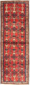 Zanjan Dywan 102X300 Orientalny Tkany Ręcznie Chodnik Ciemnoczerwony/Ciemnobrązowy (Wełna, Persja/Iran)