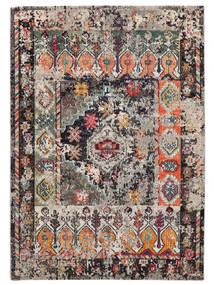 Cassiopeia - Vintage Dywan 160X230 Nowoczesny Jasnoszary/Czarny ( Turcja)