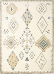 Berber Indie - Kość Słoniowa/Beżowy Dywan 240X340 Nowoczesny Tkany Ręcznie Beżowy/Biały/Creme (Wełna, Indie)