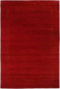 Loribaf Loom Beta - Czerwony Dywan 190X290 Nowoczesny Ciemnoczerwony/Rdzawy/Czerwony (Wełna, Indie)