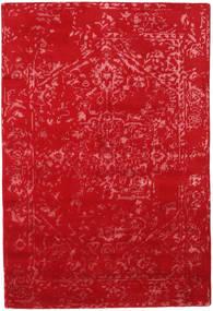 Orient Express - Czerwony Dywan 140X200 Nowoczesny Tkany Ręcznie Czerwony (Wełna/Jedwab Bambusowy, Indie)