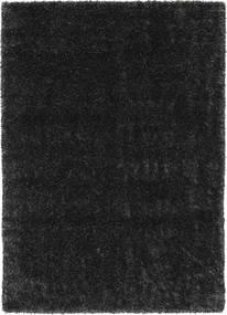 Lotus - Ciemnoszary Dywan 160X230 Nowoczesny Czarny ( Turcja)
