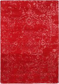 Orient Express - Czerwony Dywan 160X230 Nowoczesny Tkany Ręcznie Czerwony (Wełna/Jedwab Bambusowy, Indie)