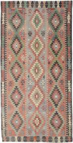 Kilim Tureckie Dywan 170X334 Orientalny Tkany Ręcznie Jasnoszary/Ciemnoszary (Wełna, Turcja)