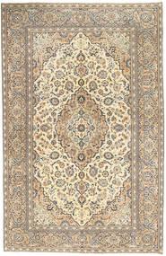 Keszan Patina Dywan 190X296 Orientalny Tkany Ręcznie Jasnoszary/Ciemnobeżowy (Wełna, Persja/Iran)