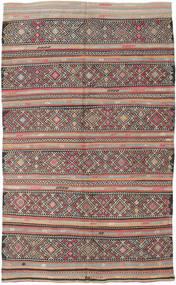 Kilim Tureckie Dywan 173X290 Orientalny Tkany Ręcznie Jasnoszary/Ciemnoszary (Wełna, Turcja)