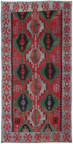 Kilim Tureckie Dywan 160X320 Orientalny Tkany Ręcznie Czerwony/Ciemnobrązowy (Wełna, Turcja)