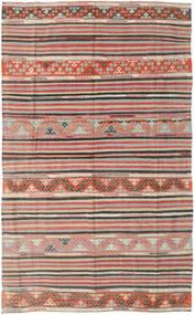 Kilim Tureckie Dywan 164X258 Orientalny Tkany Ręcznie Jasnoszary/Jasnobrązowy (Wełna, Turcja)
