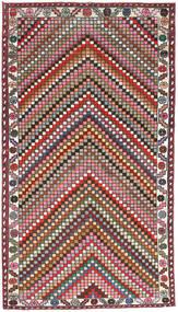 Hamadan Patina Dywan 107X200 Orientalny Tkany Ręcznie Ciemnoszary/Ciemnoczerwony (Wełna, Persja/Iran)