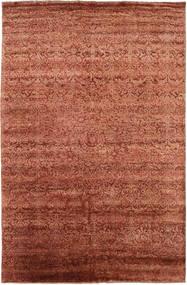 Damask Dywan 193X300 Nowoczesny Tkany Ręcznie Czerwony/Ciemnoczerwony ( Indie)