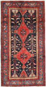 Koliai Dywan 150X290 Orientalny Tkany Ręcznie Chodnik Ciemnoczerwony/Czarny (Wełna, Persja/Iran)