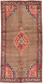 Koliai Dywan 148X291 Orientalny Tkany Ręcznie Chodnik Ciemnoczerwony/Brązowy (Wełna, Persja/Iran)