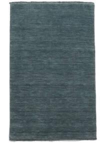 Handloom Fringes - Morska Zieleń Dywan 160X230 Nowoczesny Niebieski (Wełna, Indie)