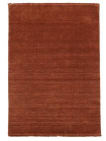 Handloom Fringes - Intensywna Rdza Dywan 140X200 Nowoczesny Rdzawy/Czerwony/Czerwony/Ciemnoczerwony (Wełna, Indie)