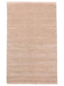 Handloom Fringes - Pastelowy Róż Dywan 160X230 Nowoczesny Jasnoróżowy/Beżowy (Wełna, Indie)
