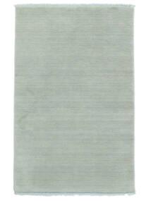 Handloom Fringes - Lodowo Niebieski Dywan 160X230 Nowoczesny Jasnoniebieski (Wełna, Indie)