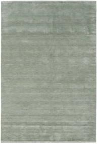 Handloom Fringes - Soft Teal Dywan 300X400 Nowoczesny Jasnozielony/Ciemnoszary Duży (Wełna, Indie)
