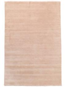 Handloom Fringes - Pastelowy Róż Dywan 200X300 Nowoczesny Jasnoróżowy/Beżowy (Wełna, Indie)