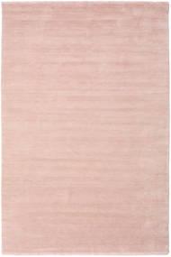 Handloom Fringes - Pastelowy Róż Dywan 300X400 Nowoczesny Jasnoróżowy/Beżowy Duży (Wełna, Indie)