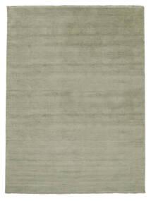 Handloom Fringes - Soft Teal Dywan 200X300 Nowoczesny Jasnozielony/Ciemnoszary (Wełna, Indie)