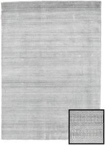 Bamboo Grass - Szary Dywan 140X200 Nowoczesny Jasnoszary/Biały/Creme (Wełna/Jedwab Bambusowy, Turcja)