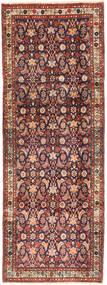 Hamadan Dywan 102X280 Orientalny Tkany Ręcznie Chodnik Ciemnoczerwony/Ciemnobrązowy (Wełna, Persja/Iran)