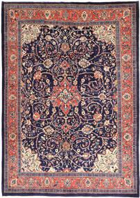 Mahal Dywan 241X345 Orientalny Tkany Ręcznie Ciemnofioletowy/Różowy (Wełna, Persja/Iran)