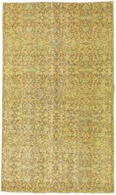 Colored Vintage Dywan 140X243 Nowoczesny Tkany Ręcznie Zielony/Oliwkowy/Ciemnobeżowy/Żółty (Wełna, Turcja)