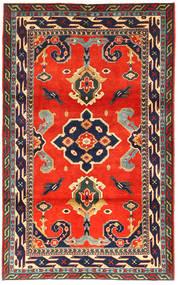 Kazak Dywan 105X173 Orientalny Tkany Ręcznie Ciemnoszary/Czerwony (Wełna, Azerbejdżan/Rosja)