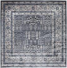 Talis - Szary Dywan 250X250 Nowoczesny Kwadratowy Ciemnoszary/Jasnoszary/Fioletowy Duży ( Turcja)