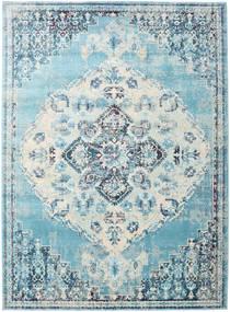 Turid - Niebieski Dywan 160X230 Nowoczesny Jasnoniebieski/Biały/Creme ( Turcja)