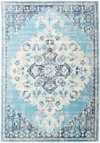 Turid - Niebieski Dywan 200X300 Nowoczesny Jasnoniebieski/Biały/Creme ( Turcja)