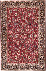 Meszhed Patina Dywan 197X300 Orientalny Tkany Ręcznie Ciemnoczerwony/Czerwony (Wełna, Persja/Iran)