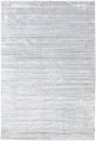 Bamboo Jedwab Loom - Szary Dywan 200X300 Nowoczesny Biały/Creme/Jasnoszary ( Indie)