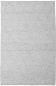 Svea - Szarość Srebrna Dywan 200X300 Nowoczesny Tkany Ręcznie Jasnoszary/Biały/Creme (Wełna, Indie)