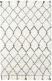 Sauda - Natural Szary Dywan 120X180 Nowoczesny Tkany Ręcznie Beżowy/Biały/Creme (Wełna, Indie)
