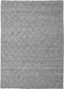 Rut - Ciemnoszary Melange Dywan 250X350 Nowoczesny Tkany Ręcznie Jasnoszary/Ciemnobrązowy Duży (Wełna, Indie)