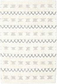 Shedir - White Dywan 160X230 Nowoczesny Tkany Ręcznie Beżowy/Biały/Creme (Wełna, Indie)