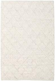 Rut - Lodowa Szarość Melange Dywan 160X230 Nowoczesny Tkany Ręcznie Jasnoszary/Beżowy/Biały/Creme (Wełna, Indie)