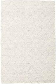 Rut - Lodowa Szarość Melange Dywan 200X300 Nowoczesny Tkany Ręcznie Biały/Creme/Ciemnobeżowy/Beżowy (Wełna, Indie)