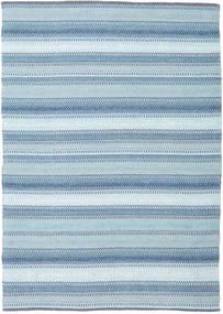 Wilma - Niebieski Dywan 170X240 Nowoczesny Tkany Ręcznie Jasnoniebieski (Bawełna, Indie)