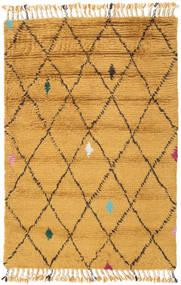 Alta - Złoty Dywan 120X180 Nowoczesny Tkany Ręcznie Jasnobrązowy/Pomarańczowy (Wełna, Indie)