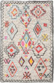 Fatima - Multi Dywan 160X230 Nowoczesny Tkany Ręcznie Jasnoszary/Beżowy (Wełna, Indie)
